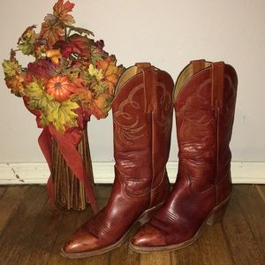 Frye western leather boots size 7.5